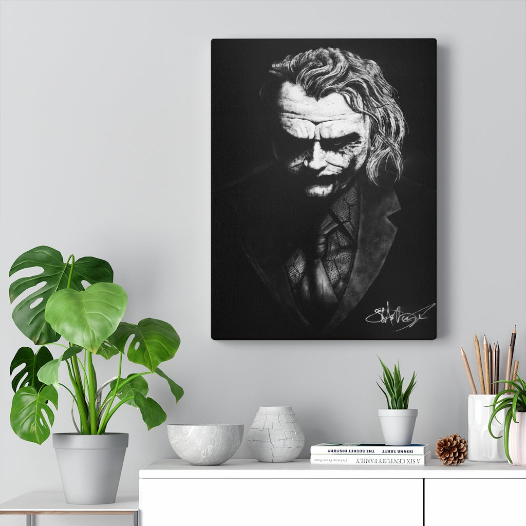 Joker Canvas Wrap