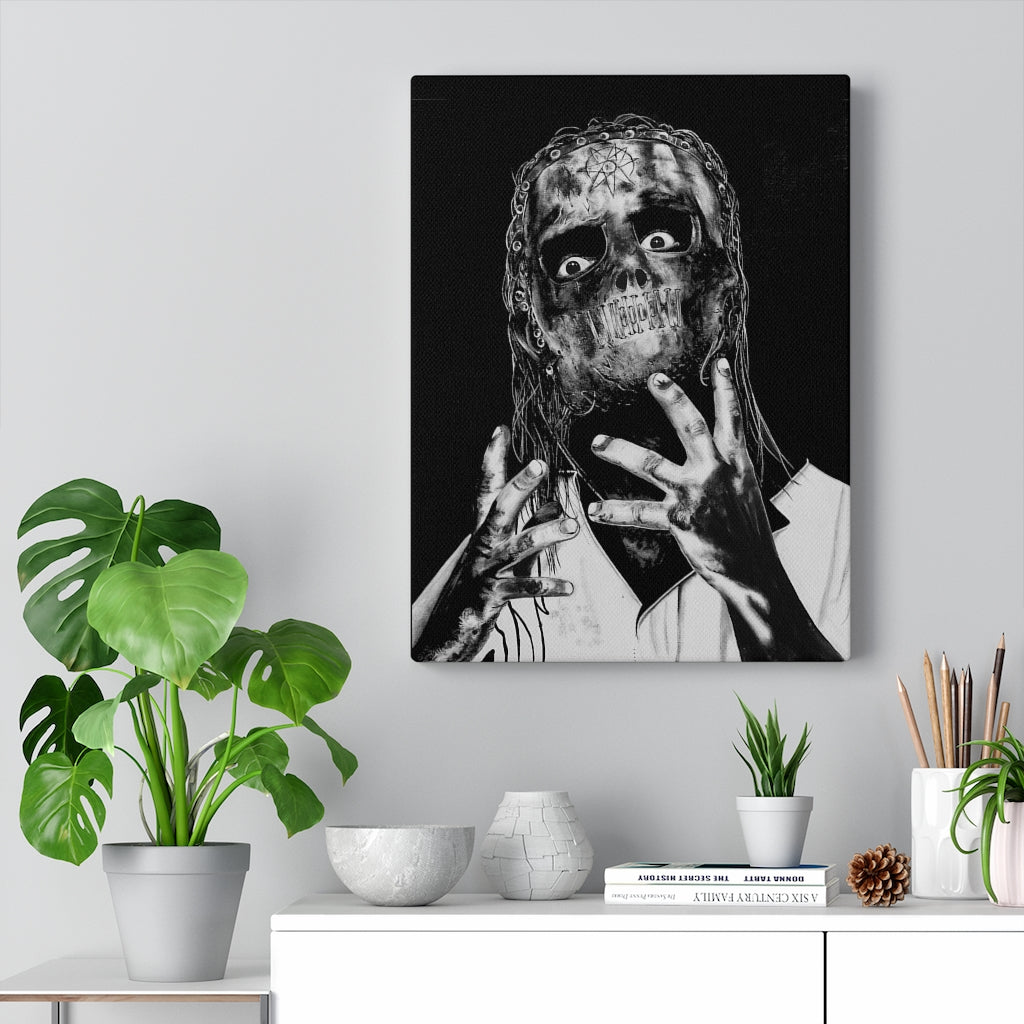 Slipknot Fan Art Canvas Wrap