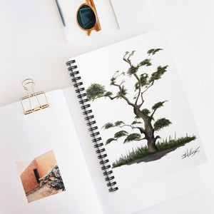 Tree Spiral Notebook - Ruled Line