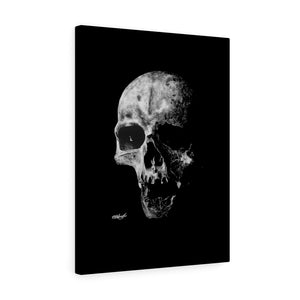 Realism Skull Canvas Wrap