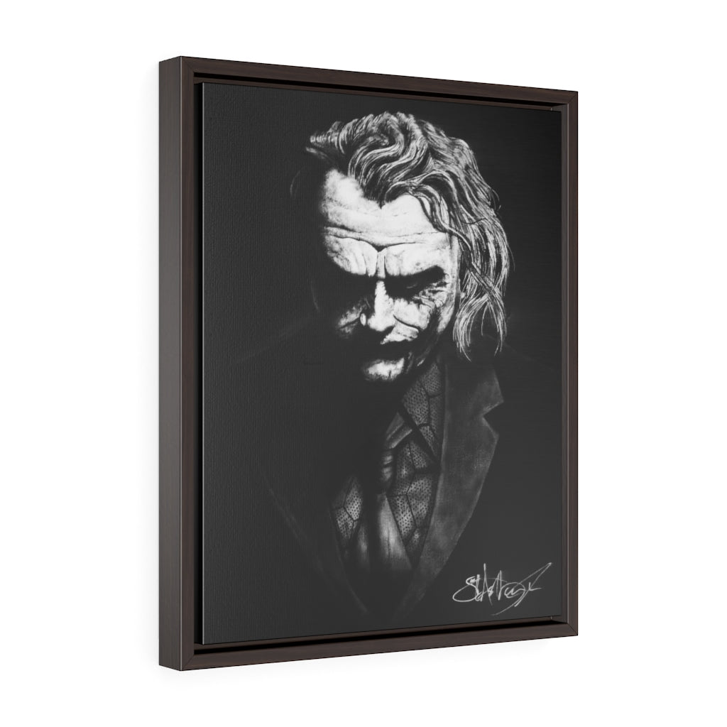Joker Portrait Wrap Canvas