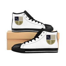 Load image into Gallery viewer, Women's High-top Ashbaugh Artwork Sneakers
