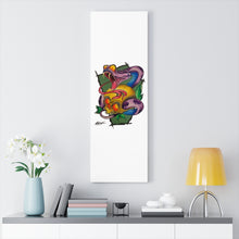 Load image into Gallery viewer, Snake and Skull Canvas Wrap