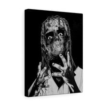 Load image into Gallery viewer, Slipknot Fan Art Canvas Wrap