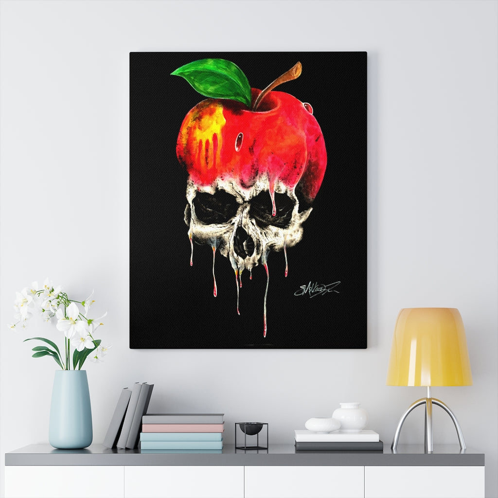 Poison Apple Canvas Wrap