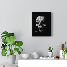 Load image into Gallery viewer, Realism Skull Canvas Wrap