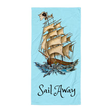 Load image into Gallery viewer, Sail Away Towel