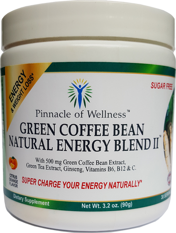 New Product Launch --- Green Coffee Bean Natural Energy Blend II