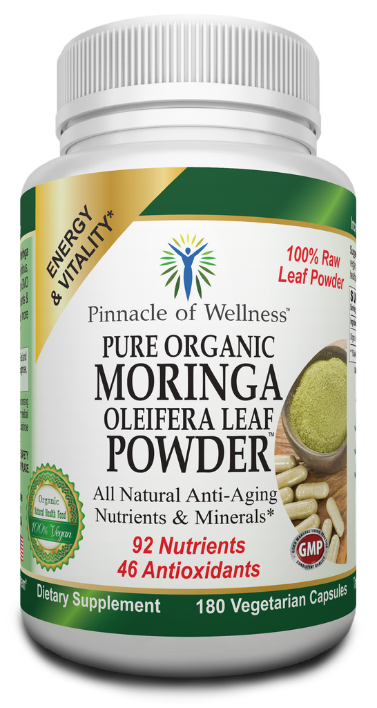 New Product Launch --- Pure Organic Moringa Oleifera Leaf Powder