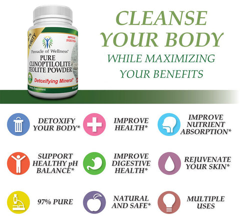 Zeolite Capsules Cleansing Power