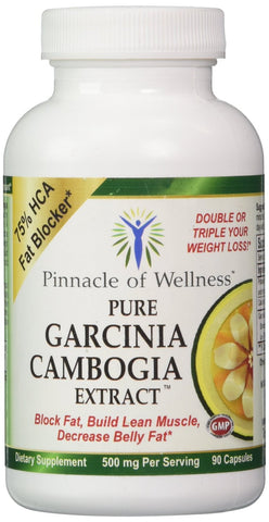 Pure Garcinia Cambogia Extract 90 Capsules FREE SHIPPING