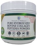 Pure Hydrolyzed Bovine Collagen Peptides Powder - Natural Flavor - 41 Servings 16.0oz (454g) FREE SHIPPING