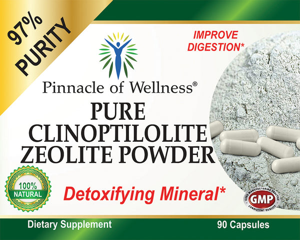 Pure Clinoptilolite Zeolite Powder
