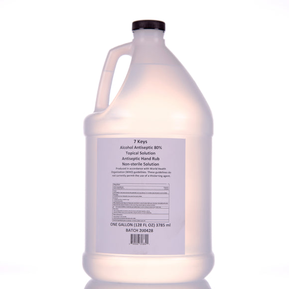 Liquid Hand Sanitizer 1 Gallon