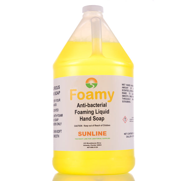 Sunline Antibacterial Foaming Liquid Hand Soap