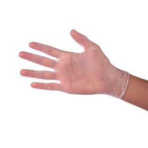 Latex Gloves - Powder Free - 100 Gloves Per Box
