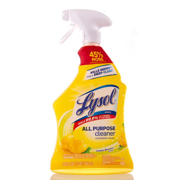 Lysol All Purpose Cleaner - Lemon Breeze - 32oz