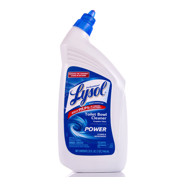 Lysol Disinfectant Toilet Bowl Cleaner 32oz