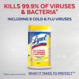 Lysol Disinfecting Wipes (80 Wipe Tub/Canister)
