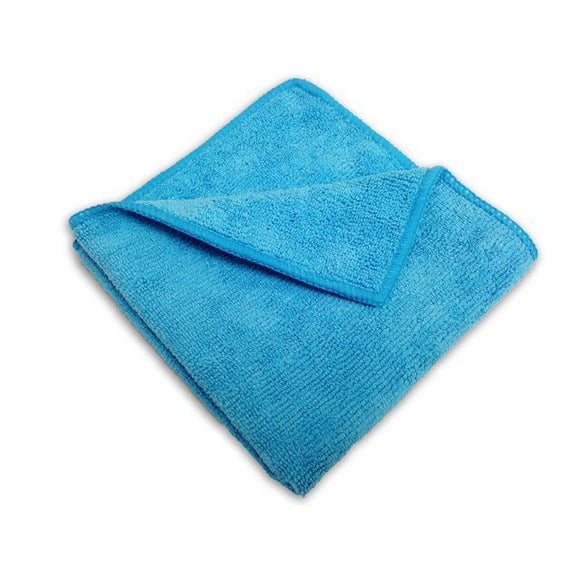 Blue Microfiber Cleaning Cloth 16X16