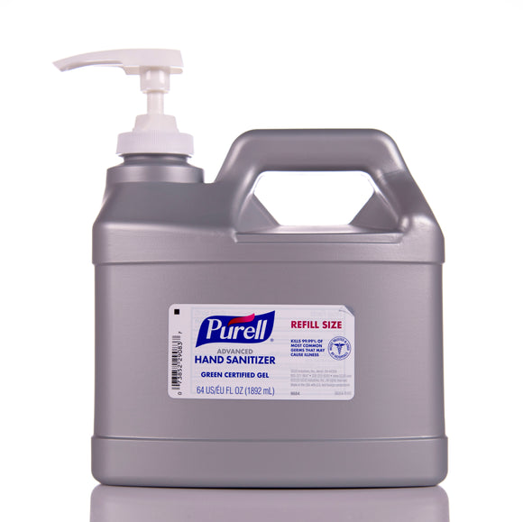 Purell Gel Hand Sanitizer 1/2 Gallon