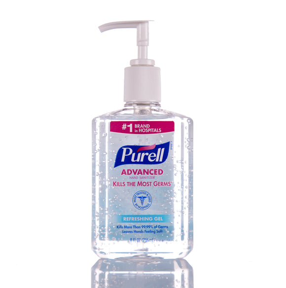 Purell Gel Hand Sanitizer 8oz