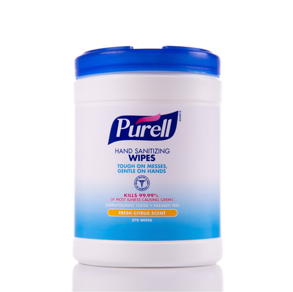 Purell Sanitizing Wipes (270 Wipe Tub)