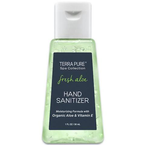Terra Pure Fresh Aloe Hand Sanitizer Gel 1oz