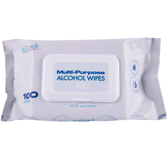 Multi-Purpose Sanitizing Wonder Wipes (100 Wipe Pack)