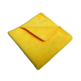 Yellow Microfiber Cleaning Cloth 16X16