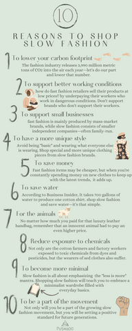 10 reasons to shop slow fashion sustainability ecofriendly brands