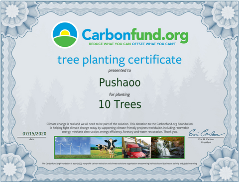 planting trees with pushaoo