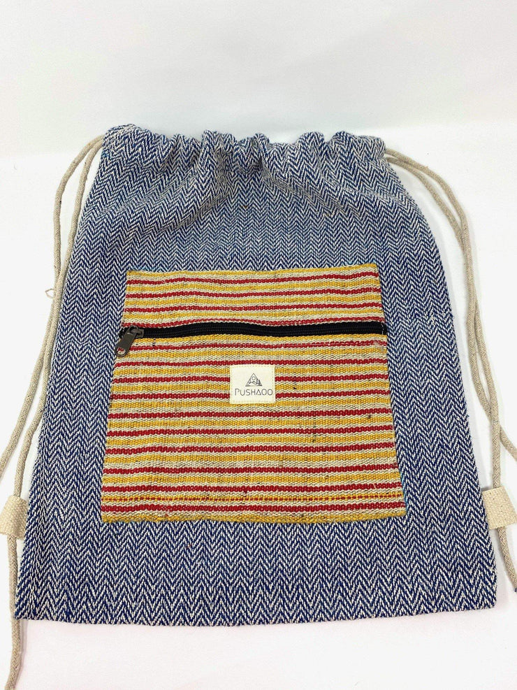 Pushaoo drawstring bag Isa Hemp  Sustainable Clothes