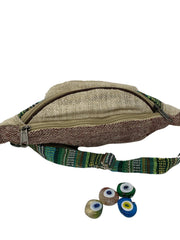 Pushaoo fanny pack Alga Hemp  Sustainable Clothes