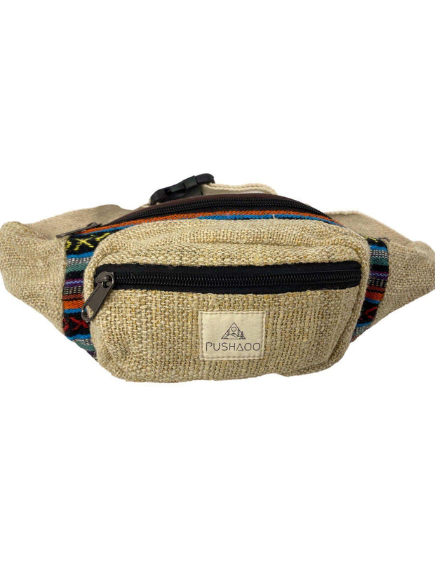 Pushaoo fanny pack Amaia Hemp  Sustainable Clothes