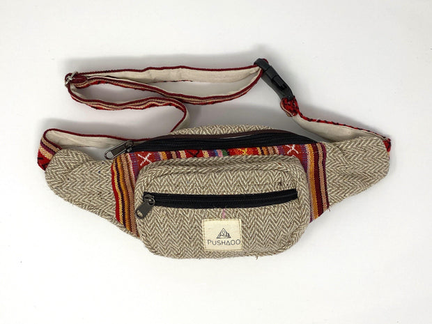 Pushaoo fanny pack Binsa Hemp  Sustainable Clothes