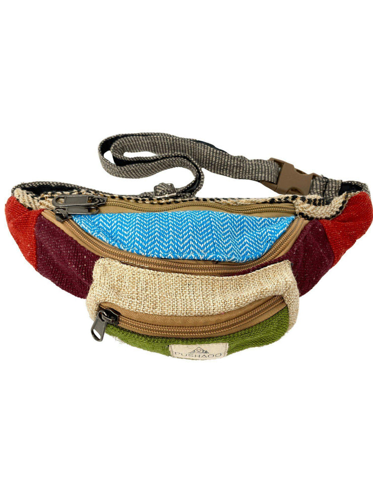 Pushaoo fanny pack Hitu Hemp  Sustainable Clothes