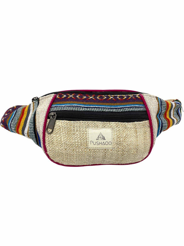 Pushaoo fanny pack Krisha Hemp  Sustainable Clothes