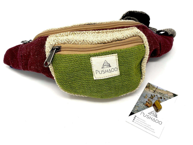 Pushaoo fanny pack Lyro Hemp  Sustainable Clothes
