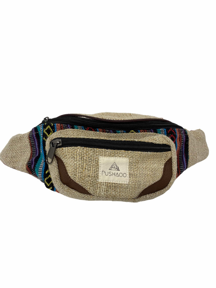 Pushaoo fanny pack Sachie Hemp  Sustainable Clothes