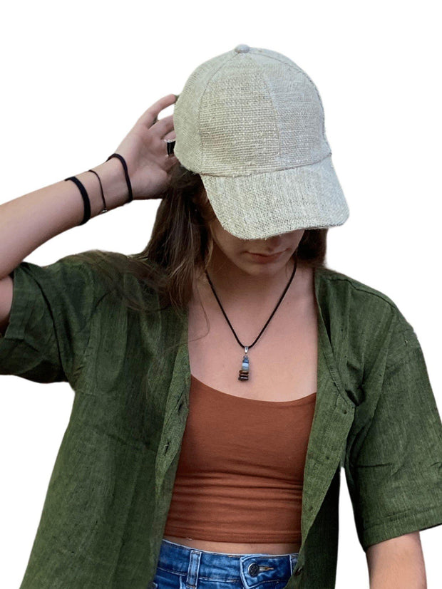 Pushaoo hat Xaza Hemp Cap Hemp  Sustainable Clothes