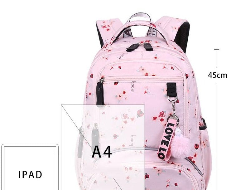 Large School Backpack Waterproof for Teenage Girls (new)