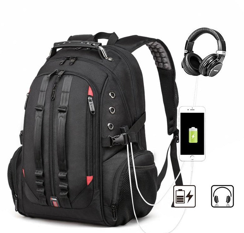 Travel Backpack USB Charging Anti theft