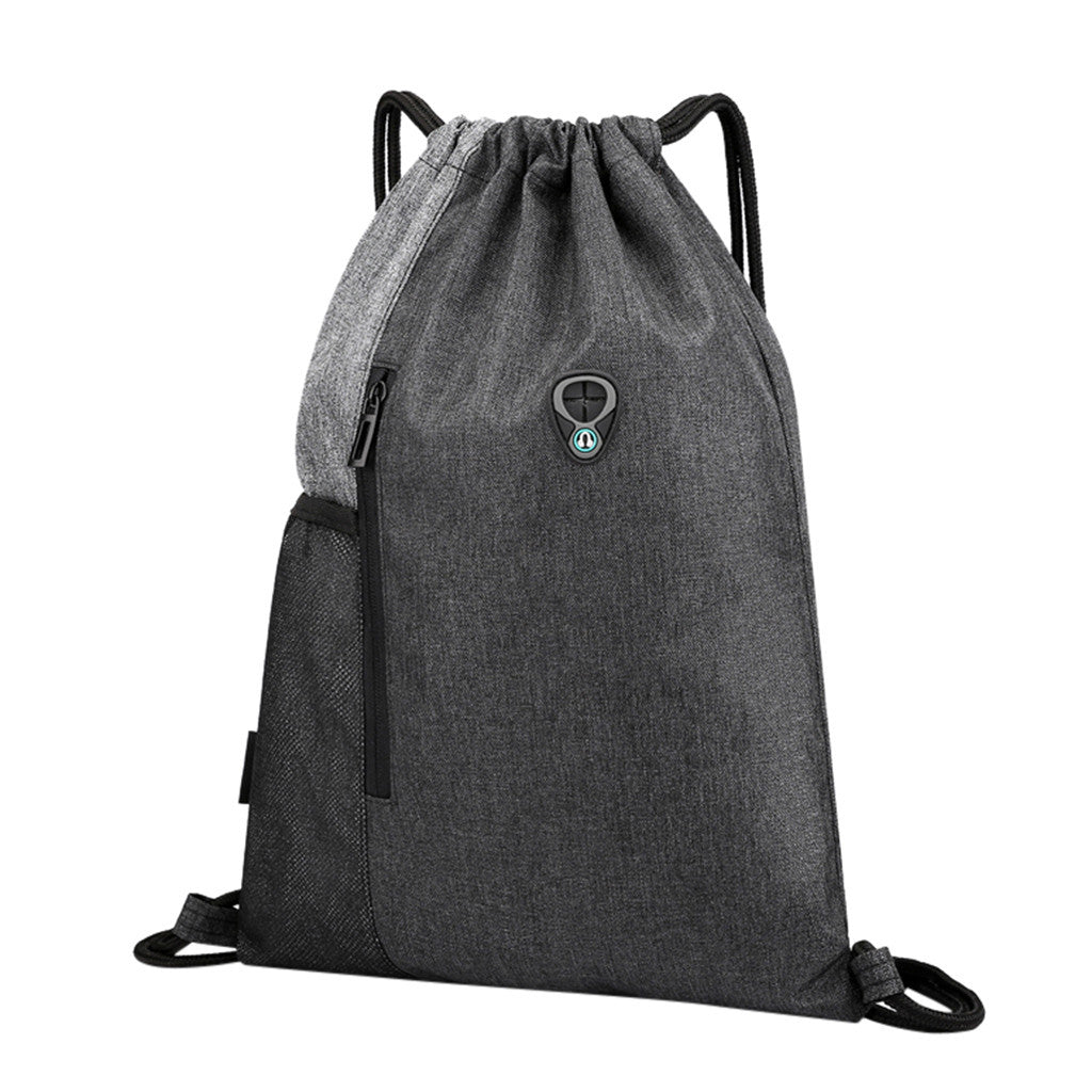 Everyday Sports Bag Travel or  Beach Bag with drawstring