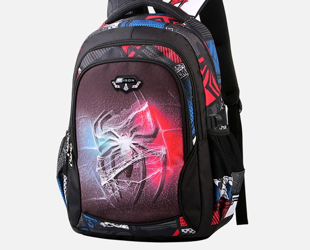 Girls and Boys School Backpack Series Cartoon