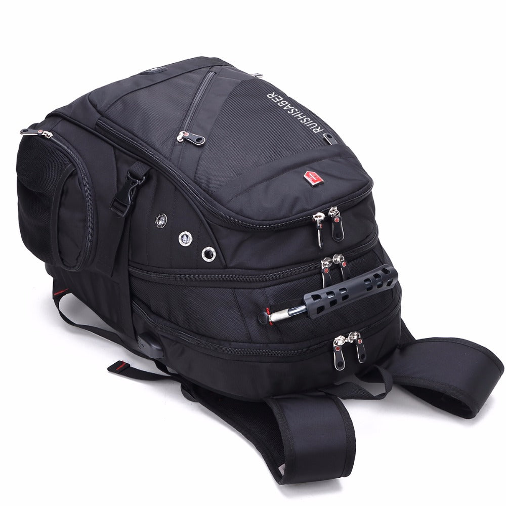 Travel Backpack Waterproof fits USB Charging