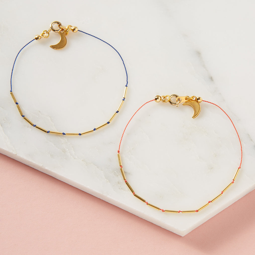 Silk String Friendship Bracelet
