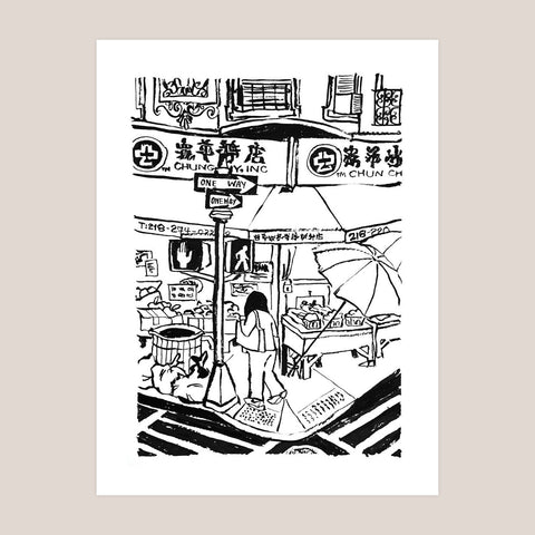 Chinatown NYC Art Print