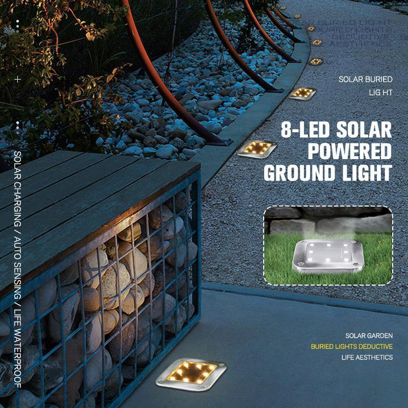Solar Powered Ground Light