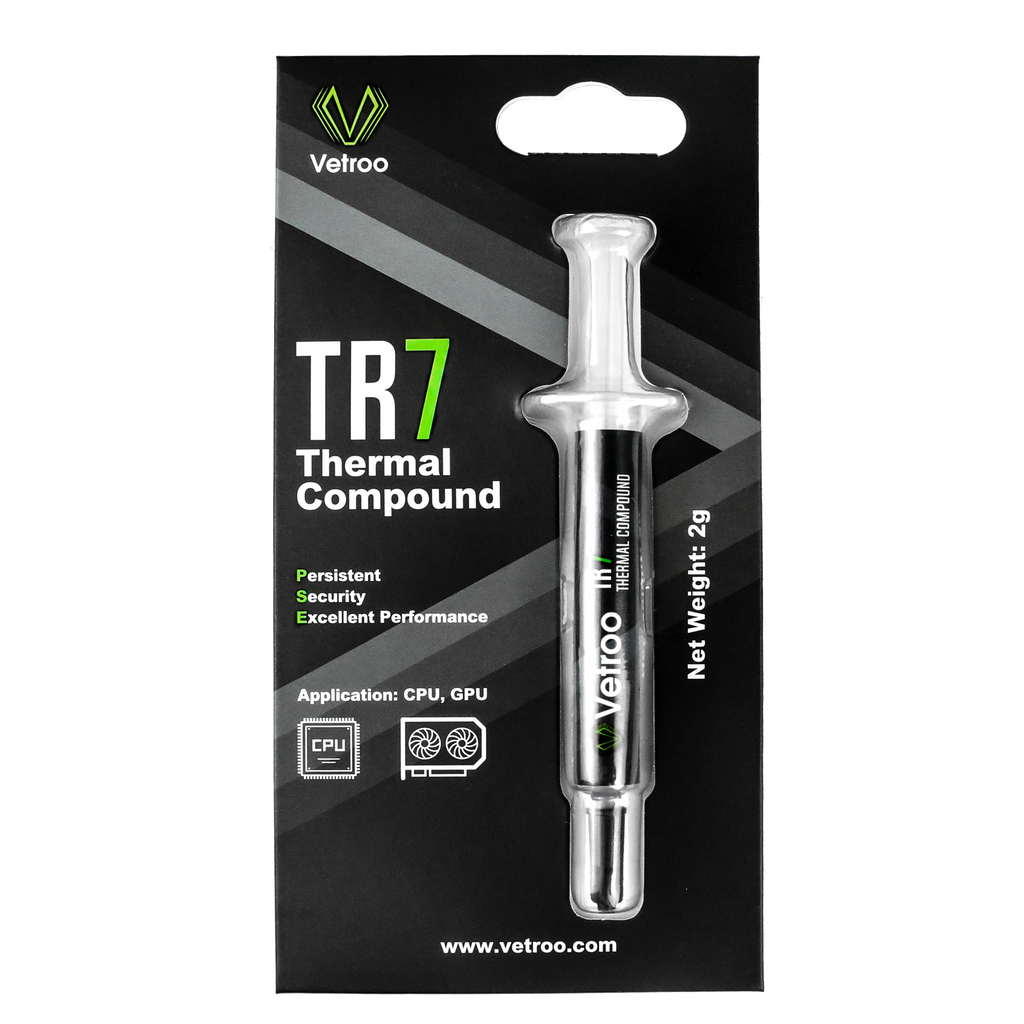 TR7 Thermal Compound Paste for Coolers, Heat Sink Paste, Easy to Apply, Primary